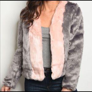Darling Bo+Be faux fur Jacket